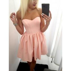 Sukienka Belinda pudrowa