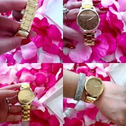 Zegarek gold ze złota tarcza