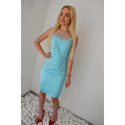 Sukienka Nina błękitna