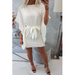 Sukienka nietoperz biała